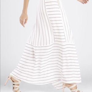 BCBGMaxAzria Haleigh Side-Drape Maxi Skirt